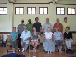 Happy yogis after the July Retreat.